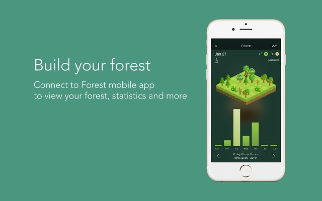 forest chrome productivity extension