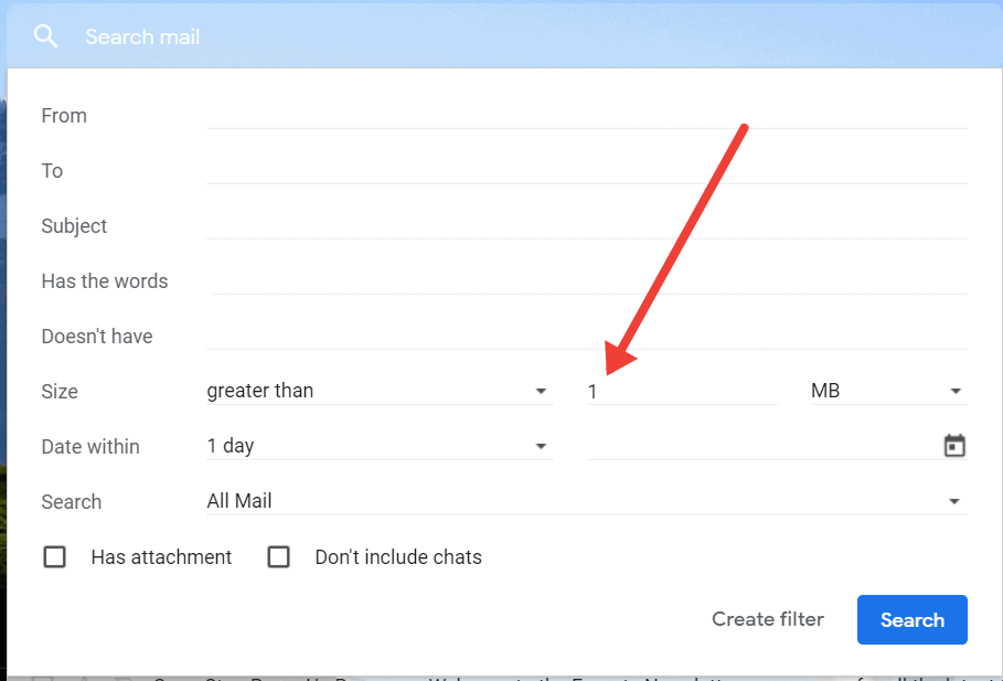 how to clean up gmail - big attachments