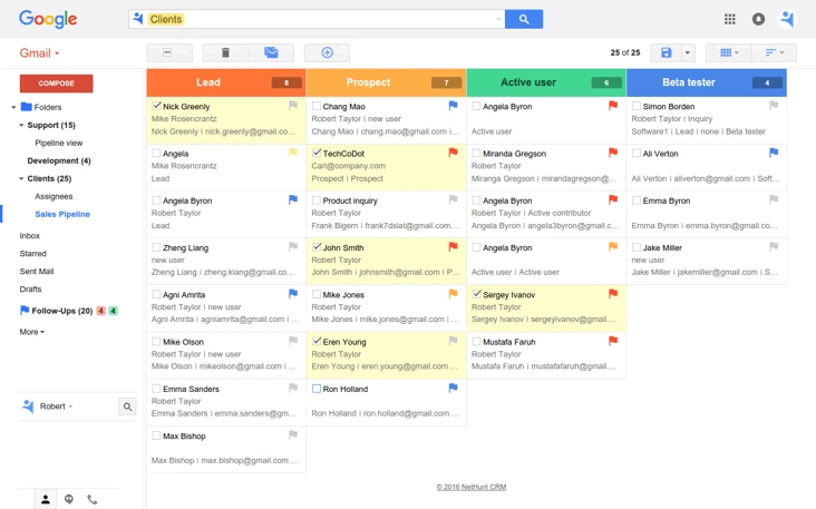nethunt gmail crm