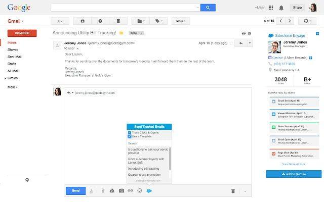 salesforce gmail crm