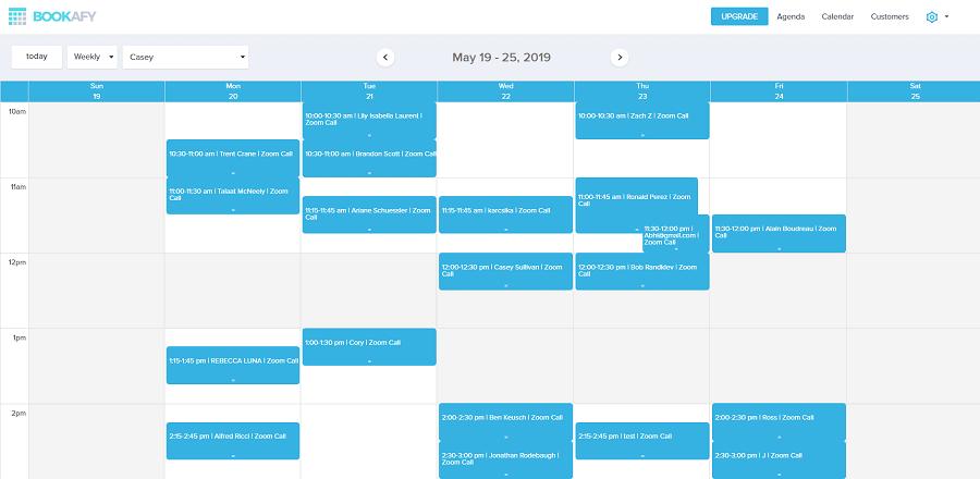bookafy - meeting scheduling app