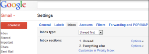 Gmail Setting Compose