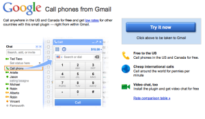 Google Voice from Gmail
