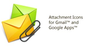 Attachment Icons for Gmail
