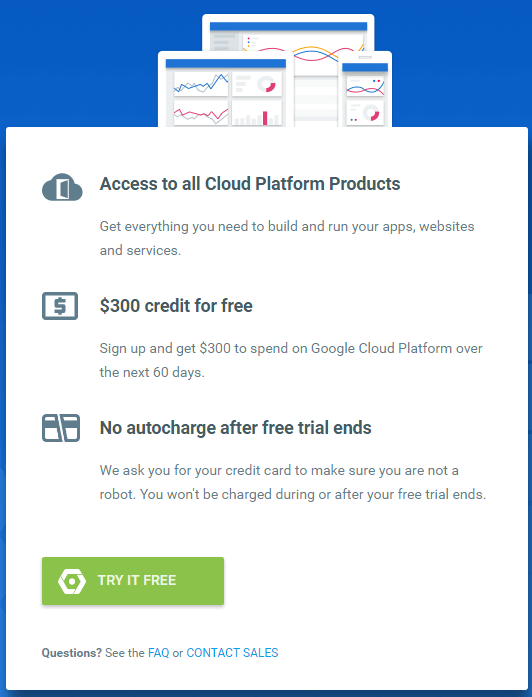 Sign Up For Your Free Trial Google Cloud Platform