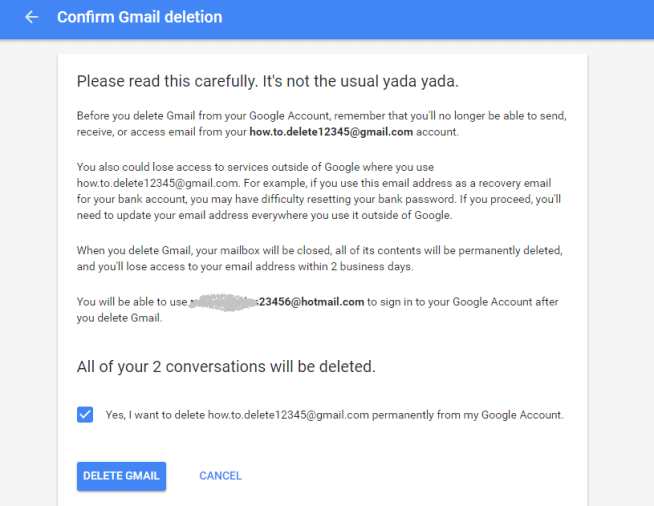 Gmail or Google Account