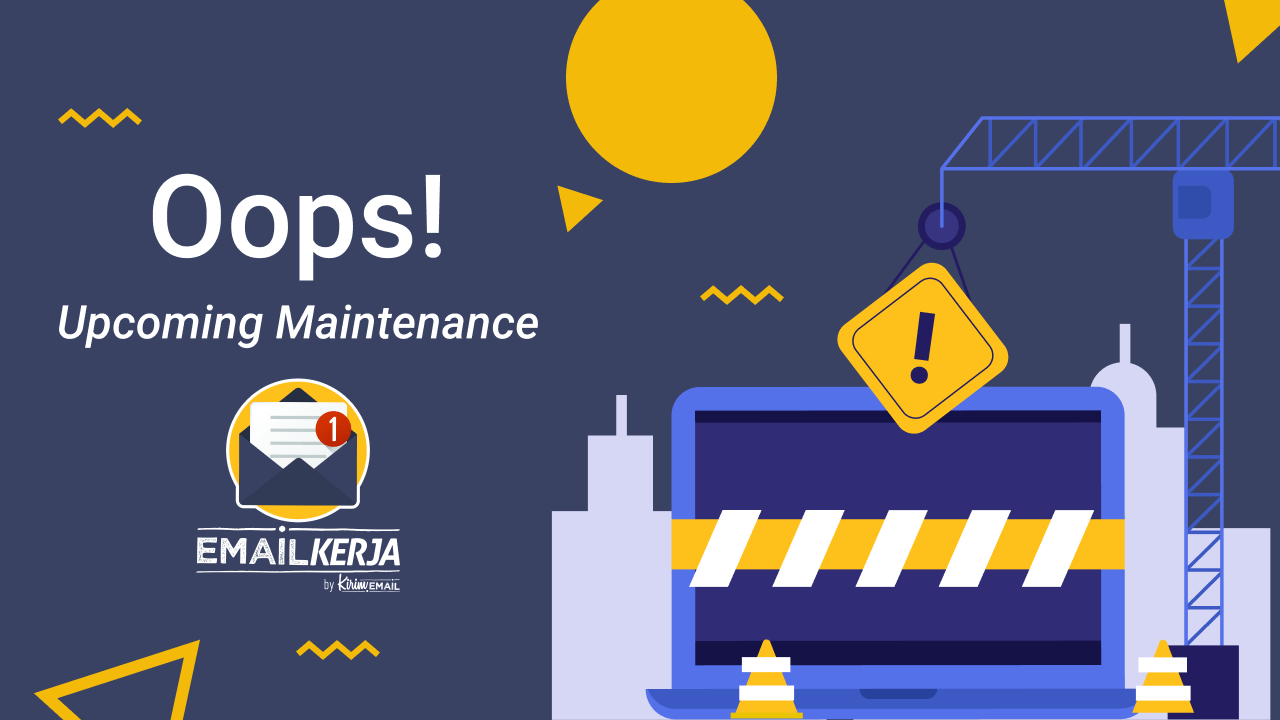 Read more about the article Info Maintenance 9 September 2021