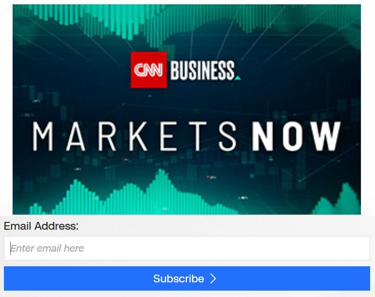 Sample CNN Email subscription form