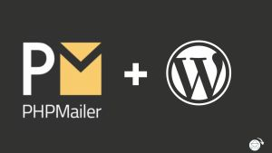 What is PHPMailer and how does it work with WordPress