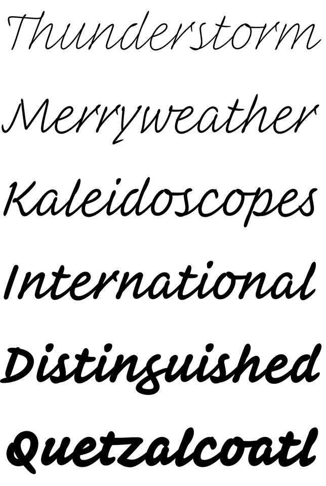 Font Family Cursive : family, cursive, INKWELL,, Family, H&Co.