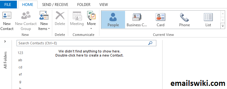 Create a group email
