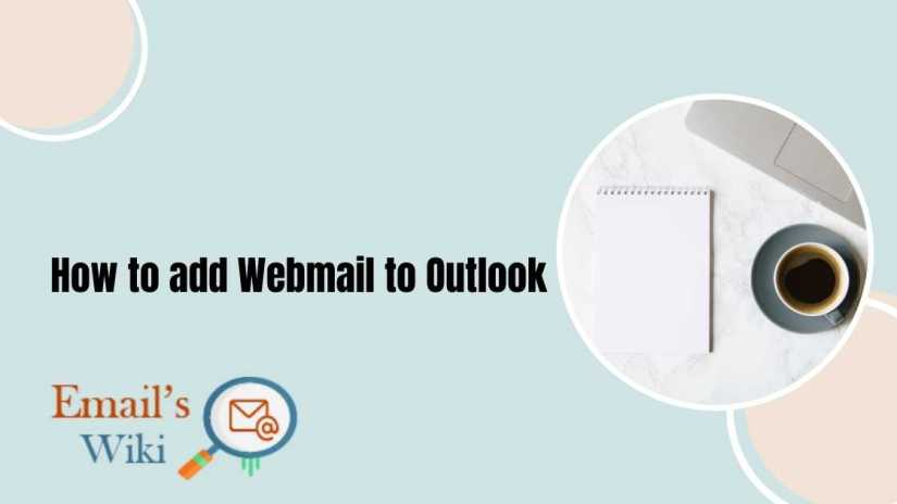 add webmail to outlook