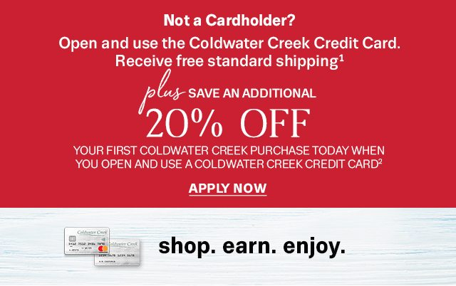Coldwater Creek Credit Card Payment