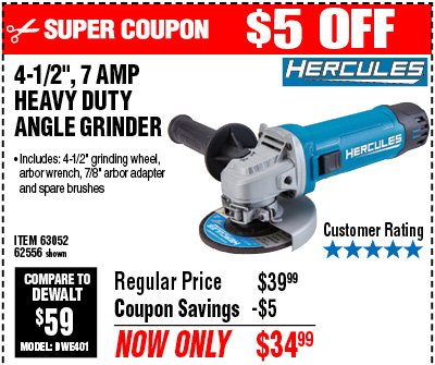 Harbor Freight Angle Grinder Brushes