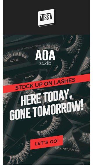 low stock alert aoa