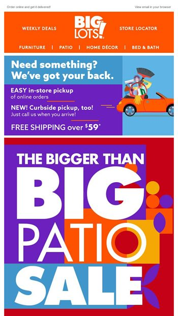 summer super big lots email archive