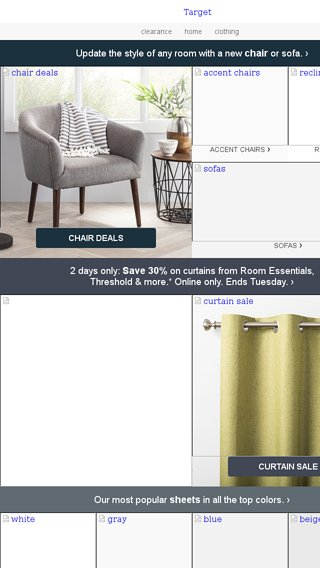 target accent chair room essentials heywood wakefield dining styles an easy way to update a on budget try new email archive