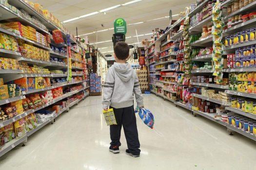 Resultado de imagem para imagem de corredores de supermercado