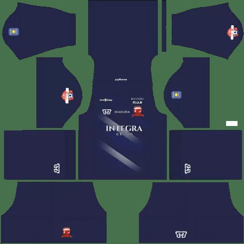 kit dls madura united 2019 2020 away