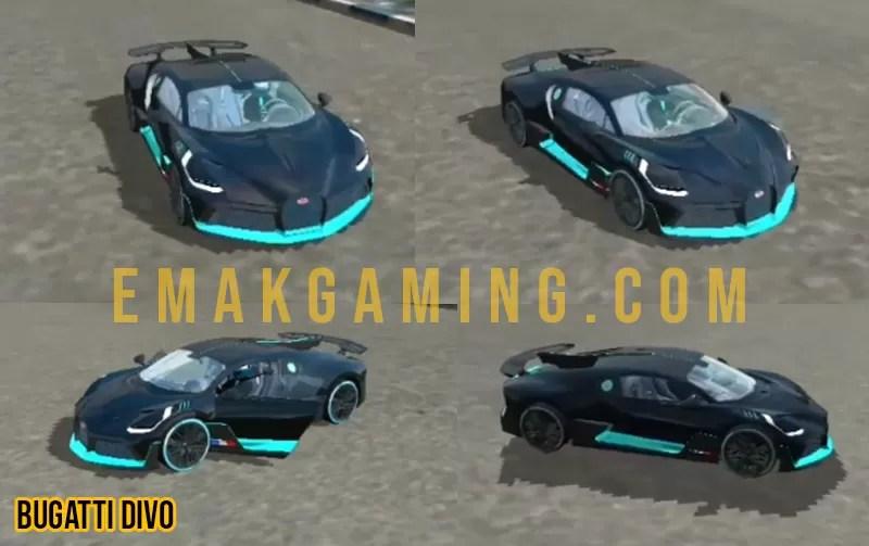 Mod bussid Bugatti Divo