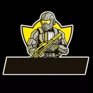 lambang guild ff pubg prajurit kuning