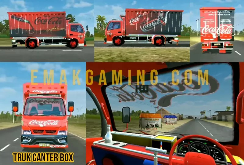 MOD BUSSID truk canter box