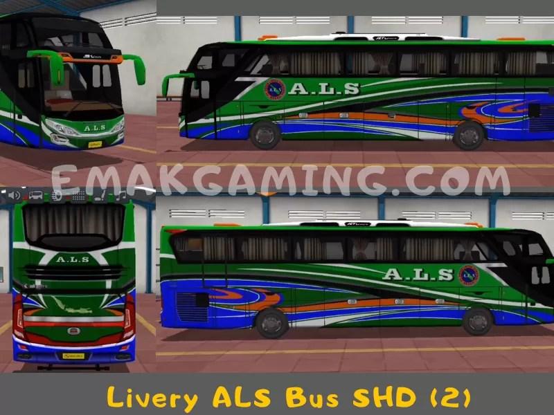 Livery Bussid ALS SHD 2