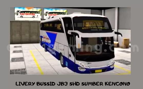 LIVERY BUSSID JB3 SHD SUMBER KENCONO