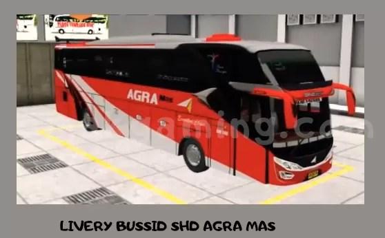 LIVERY BUSSID SHD AGRA MAS