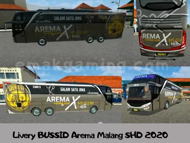 Livery BUSSID Arema Malang SHD 2020