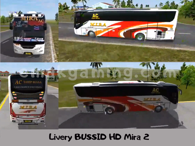 Livery BUSSID HD Mira