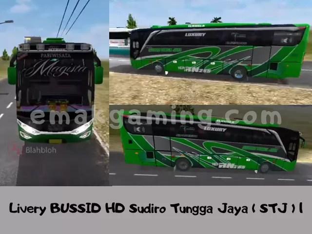 Livery BUSSID HD Sudiro Tungga Jaya