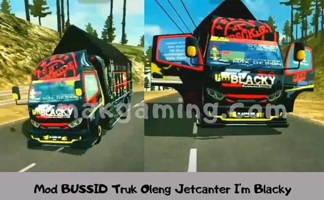 Mod BUSSID Truk Oleng Jetcanter