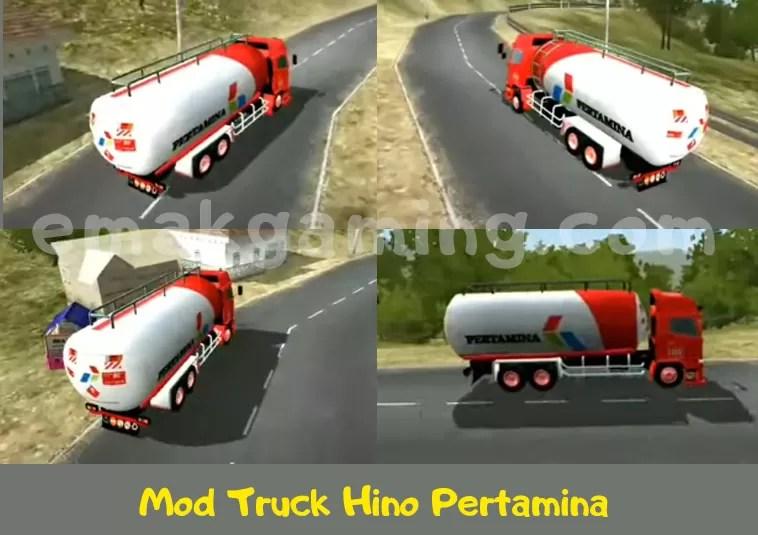 Mod Truck Hino Pertamina