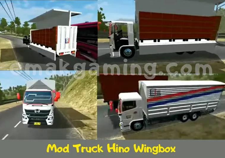 Mod truk hino wingbox