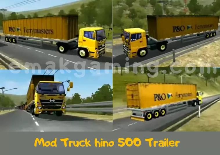 Mod Truck hino 500 Trailer