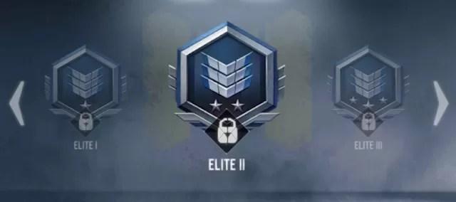 Urutan rank call of duty mobile elite