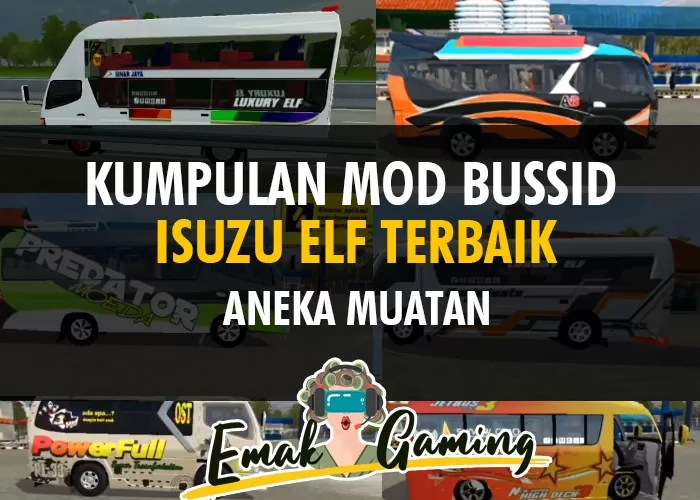 Download Mod BUSSID Elf Full Muatan