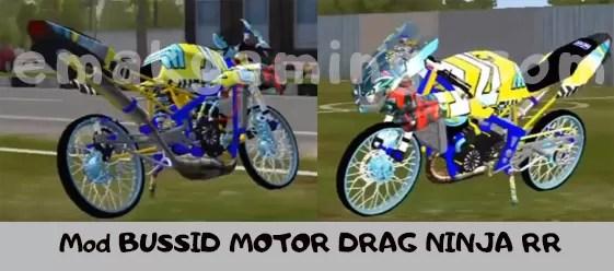 Mod BUSSID Motor Drag Ninja 150RR