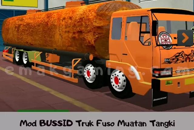 Mod BUSSID Truk Fuso Muatan Tangki