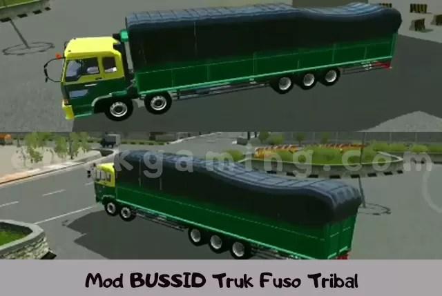 Mod BUSSID Truk Fuso Tribal