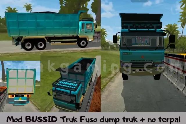 Mod BUSSID Truk Fuso dumptruk