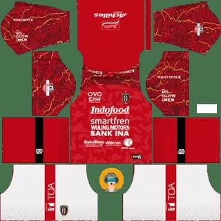 Kit DLS Bali United Home 2020 2021