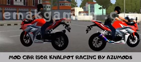 MOD CBR 150R KNALPOT RACING