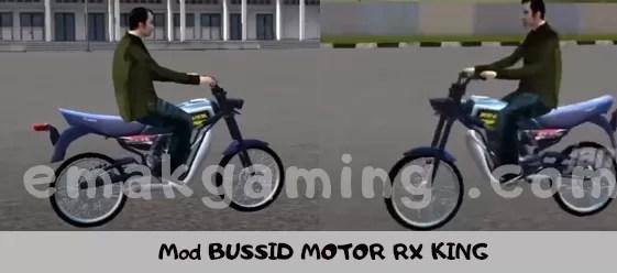 Mod BUSSID MOTOR RX KING