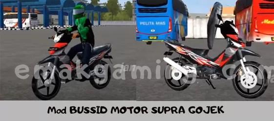 Mod MOTOR SUPRA GOJEK