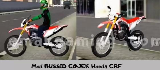 Mod GOJEK Honda CRF