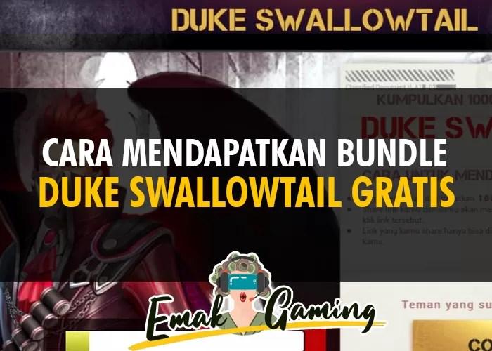 cara mendapatkan bundle duke swallowtail