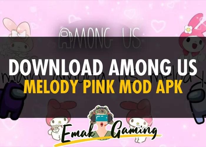 Download Among Us Melody Pink MOD APK