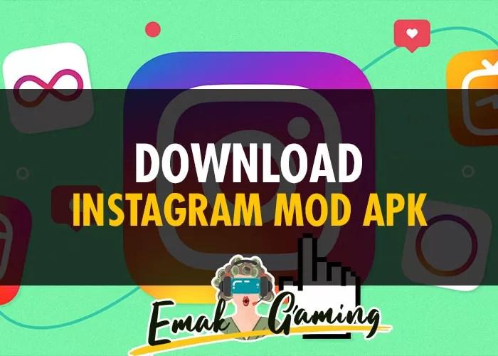 Cara Download Instagram MOD APK